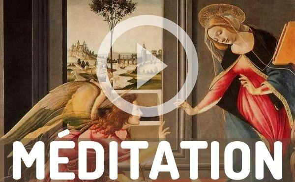 Méditation audio : Comme Marie, nous avons une vocation à la sainteté