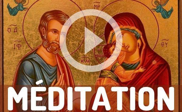 Méditation audio : la Sainte Famille, modèle de l'amour familial