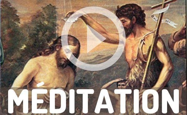 Méditation audio : Lui vous baptisera dans l'Esprit Saint