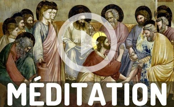 Méditation audio : Jésus prie pour l'unité de ses disciples