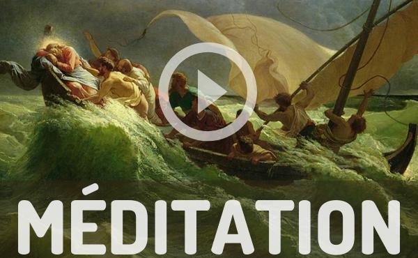 Opus Dei - Méditation audio : Jésus dormait