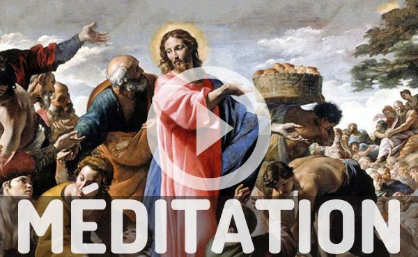 Méditation audio : Dieu ne se laisse pas gagner en générosité