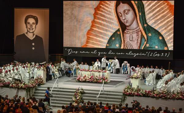 Homilie při obřadu blahořečení Guadalupe Ortiz de Landázuri