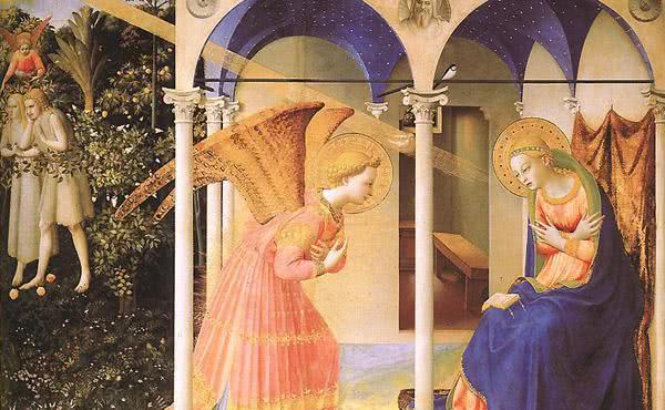 Opus Dei - Marias liv (V): Ängelns bud till Maria