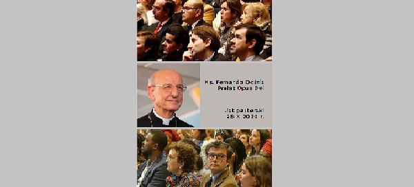 Opus Dei - List Prałata (28 października 2020 r.)