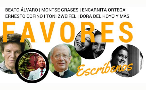 Opus Dei - Envíe a través de la página web los favores recibidos