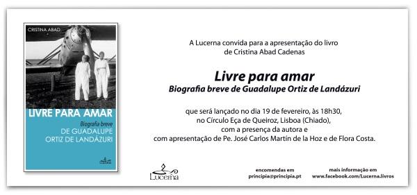 Opus Dei - Lançamento de uma biografia breve de Guadalupe Ortiz de Landázuri