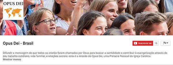 Opus Dei - Como ativar as legendas dos vídeos no Youtube