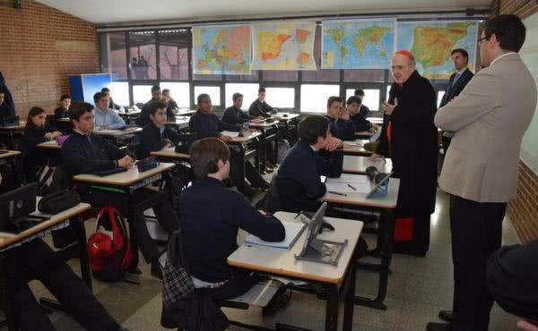 Monseñor Carlos Osoro: «Tajamar es una obra transformadora de la gente»
