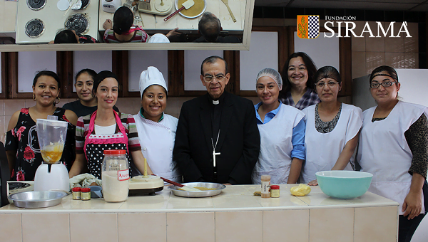Visita del Cardenal Rosa Chávez a Siramá, obra Corporativa del Opus Dei en El Salvador