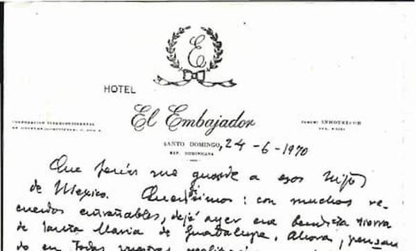 """50 años del """"embajador"""" de Dios en Santo Domingo"""