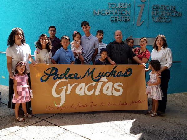 Viaje Pastoral del prelado a Puerto Rico
