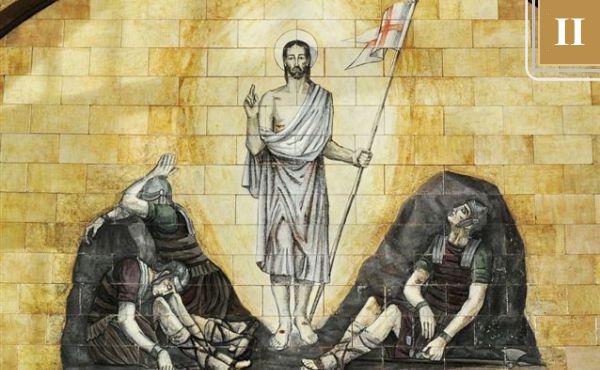 复活节:默观基督的生活主页