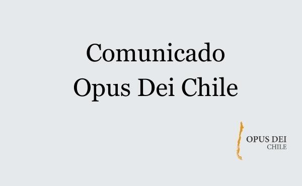 Opus Dei - Comunicado Opus Dei - 16 agosto 2021
