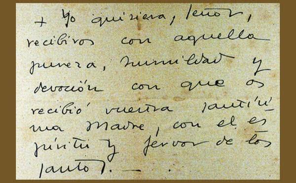 Prima Împărtășanie a Sfântului Josemaría