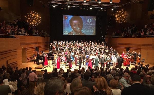 Un concierto de Harambee para arropar a los niños huérfanos de Benín