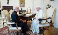 프란치스코 교황, 오푸스데이 단장의 예방을 받아드림