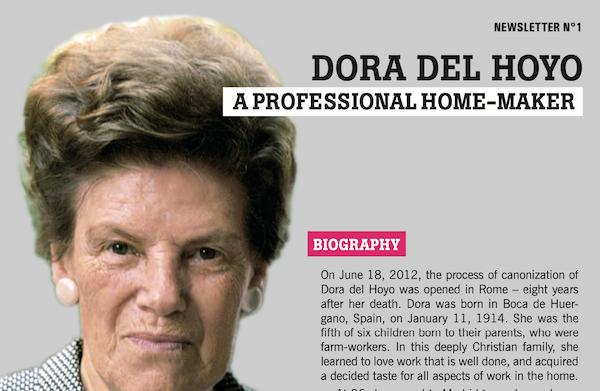 Opus Dei - Dora del Hoyo: Newsletter No 1
