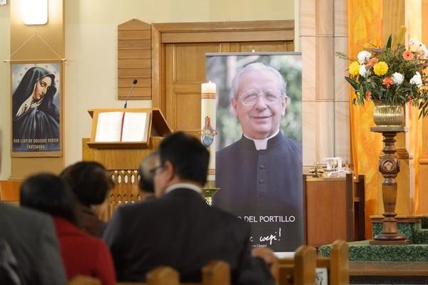 Hundreds of Sydney people attend Mass for Blessed Alvaro's first feast