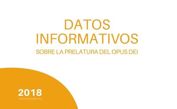 Opus Dei - Datos Informativos sobre el Opus Dei en España (2018)