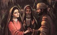 Marias liv (IV): Trolovningen med Josef