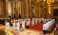 Thirty One New Deacons from Sixteen Countries