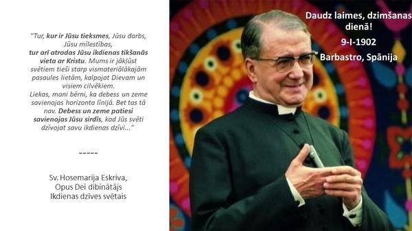 Opus Dei - Svētā Hosemarijas video biogrāfija