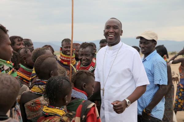 Um bispo da primeira geração de cristãos do norte do Quênia