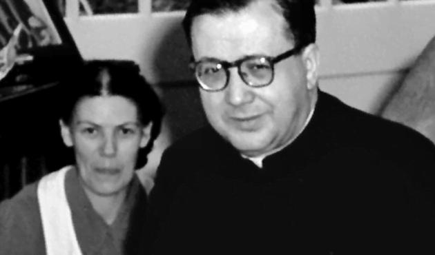Opus Dei - Dora del Hoyo e san Josemaría Escrivá