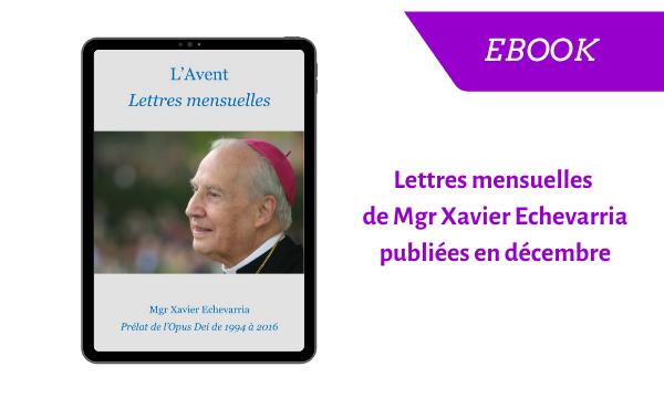 """eBook - """"l'Avent, lettres mensuelles"""""""