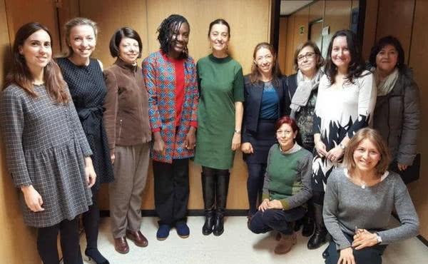 Opus Dei - Mujeres del medio rural y la ganadora del Premio Harambee se reúnen para avanzar en igualdad