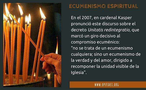Opus Dei - Ecumenismo espiritual