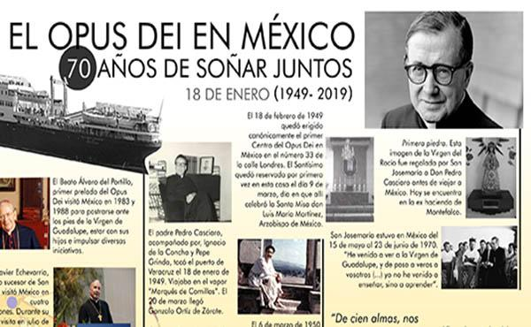 El Opus Dei en México: 70 años de soñar juntos