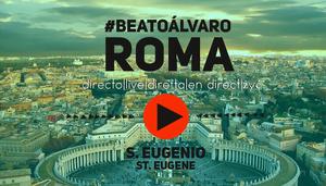 Transmisiones en directo desde Roma por YouTube