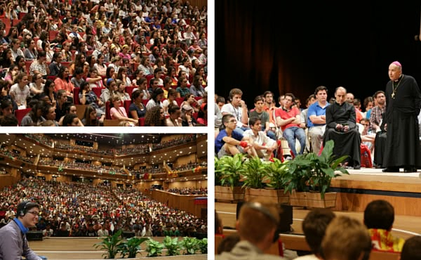 Opus Dei - Encuentros con el Prelado en la Jornada Mundial de la Juventud