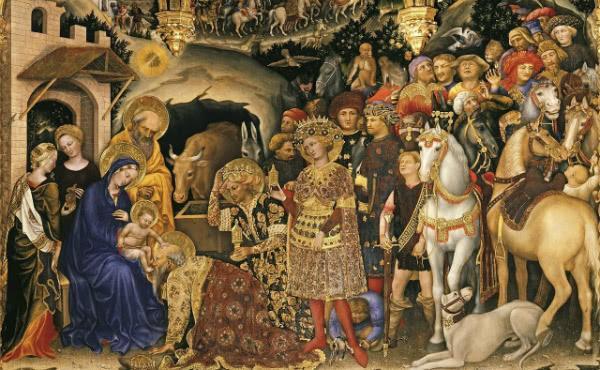 Život Panny Márie (IX): Poklona Troch kráľov