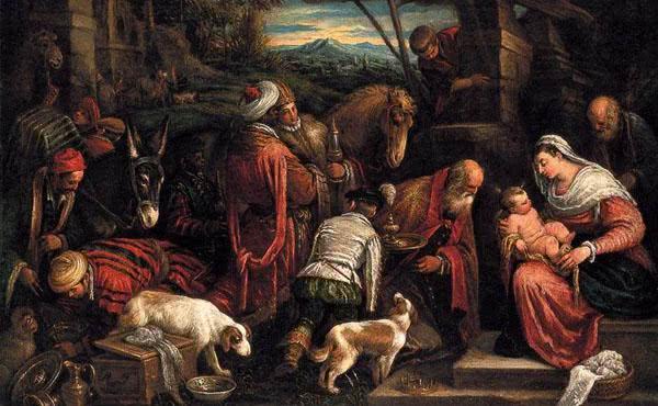 Opus Dei - Marias liv (IX): De tre vise männens tillbedjan
