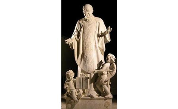 Estatua de san Josemaría en san Pedro