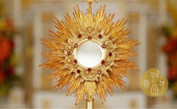 """Au fil de l'Évangile du dimanche de la solennité du Saint Sacrement du Corps et du Sang du Christ : """"Prenez, ceci est mon corps""""."""