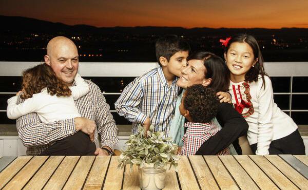 Una familia multiétnica
