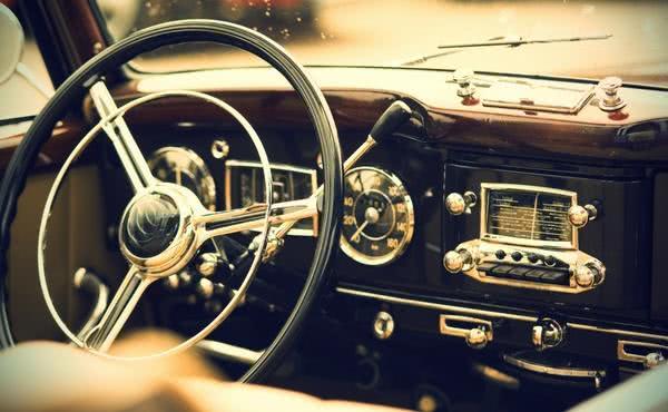 Una estampa al volante