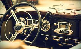 Uma estampa no volante