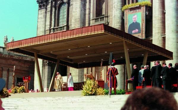 La Madre Teresa y el beato Josemaría Escrivá de Balaguer