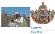 Fioretti du Pape François en mars