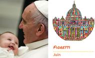 Les fioretti du pape François en juin