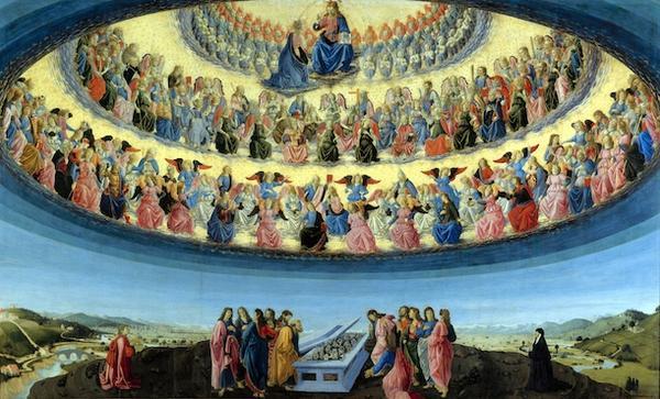La Mère de la Miséricorde, en gloire