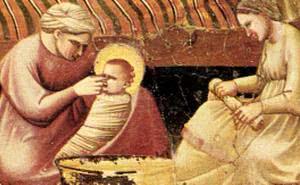 聖母的誕生:教會訓導和聖人