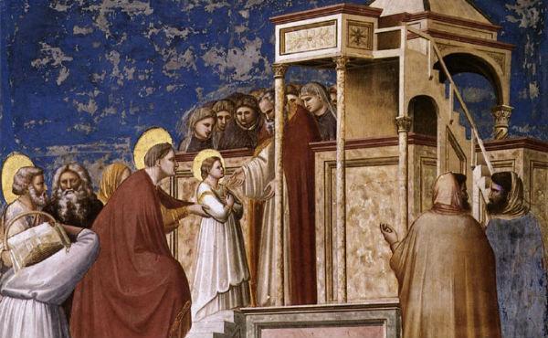 Жизнь Марии (III): Введение во храм Пресвятой Богородицы