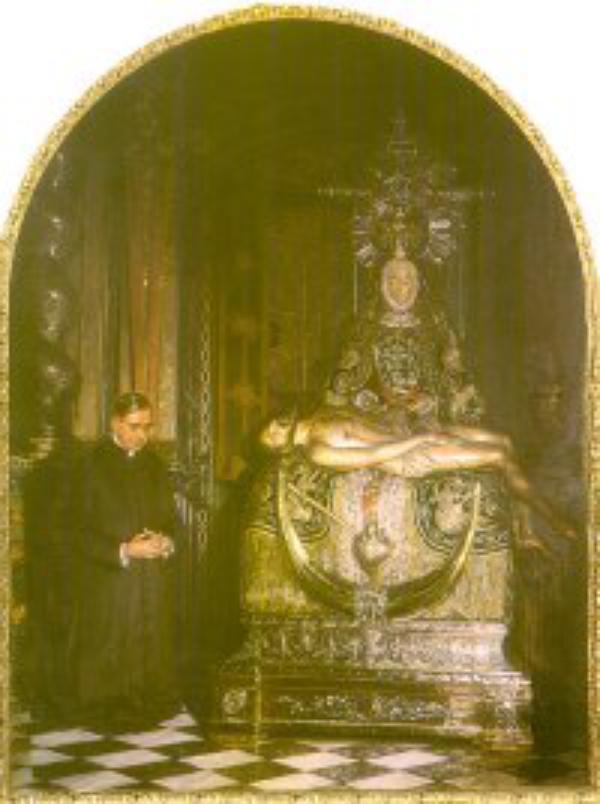 Granada dedica una capilla al nuevo santo
