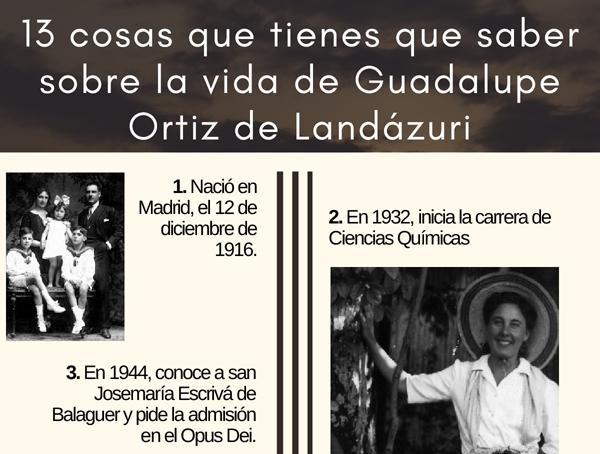 13 cosas que tienes que saber sobre la vida de Guadalupe Ortíz de Landázuri